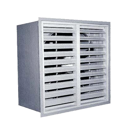Wall box fan
